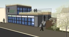 First shipping container 'village' headed to Berkeley