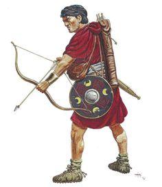 Cretan Auxiliary Archer, 9 AD