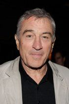 Robert De Niro, thought of as one of the greatest American actors of all time, was born in New York City, to artists Virginia (Admiral) and Robert De Niro Sr. His paternal grandfather was of Italian descent, and his other ancestry is Irish, Dutch, English, French, and German. He was trained at the Stella Adler Conservatory and the American Workshop.