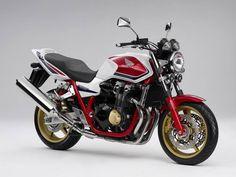 April 2008: Honda CB1300 Super Four (ABS) Pearl Sunbeam White (Special Edition)