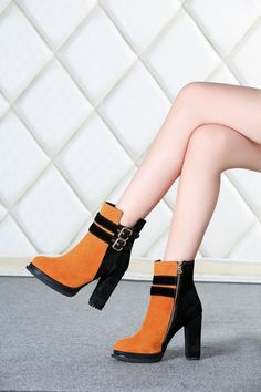 Only at Shoesofexception - Boots - Agathe $123.99   #boots #shoes #womensfashion #elegant #trendy #casual #pumps #women