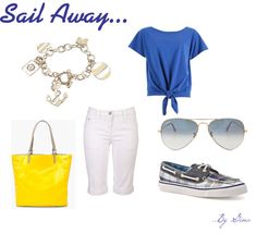 Sail Away, created by gina7980 on Polyvore