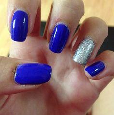 homecoming nails @Ebony Schmidt Schmidt O