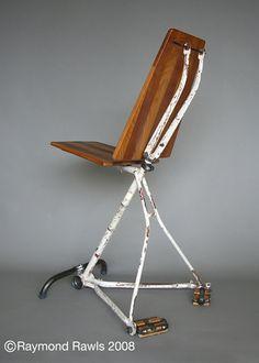bike frame chair