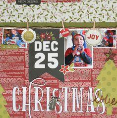 Christmas Love **Simple Stories - DIY Christmas Collection