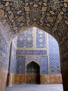 Isfahan/ Imam(Shah) Mosque by HORIZON, via Flickr
