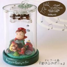 ghibli products and toys | Studio Ghibli Music Box (Ponyo on The Cliff) (4905610403196)