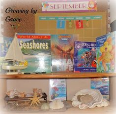 Growing by Grace : Under the Sea As we most often do, we set up a d...