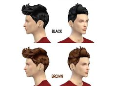 Non-default  Found in TSR Category 'Sims 4 Male Hairstyles'