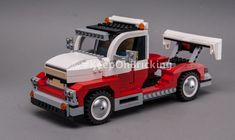 LEGO MOC 10220 Big Rig by Keep On Bricking | Rebrickable - Build with LEGO Lego Moc, Rigs, Trucks, Truck, Cars
