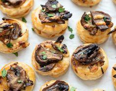 Make Cheesy Mushroom Puffs with this recipe.