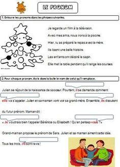 Le pronom Word Search, Education, Words, School, Album, Note Cards, Reading, Teaching, Training