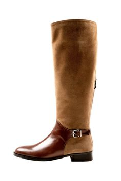 Buckle Leather Boot