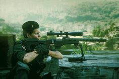 Female sniper from Brazilian #BOPE