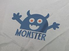Monster Logo Template by eSSeGraphic on Creative Market