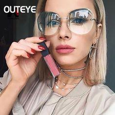 b4cc774de80 2018 Luxury Unique Sunglasses Women Brand Designer Vintage Rimless Sunglass  Female Sun Glasses For Women Ladies Sunglass Shades