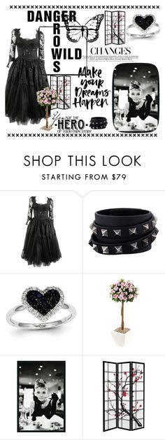 """wild outfit"" by katniss4117 ❤ liked on Polyvore featuring Valentino, Kevin Jewelers and WALL"