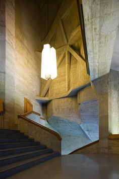 Rudolf Steiner, Second Goetheanum, Dornach, Switzerland, 1925-28