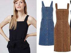 Jetzt im Trend: Pinafore Kleider (=Schürzenkleider)