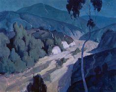 Eric Bowmann - Trabuco Canyon Nocturne Oil on Canvas 16 x 20