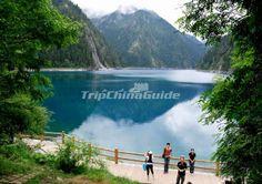 Jiuzhaigou Valley in summer