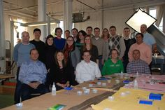 Minneapolis office - Glass Mosaic Group Project.