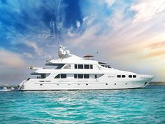 LADY M now for charter with Worth Avenue Yachts. www.WorthAvenueYachts.com
