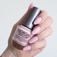 NEW POST: The Morgan Taylor Color Of Petals collection is inspired by flowers - if you're a fan of nudes and soft shades this is perfection! Morgan Taylor, Super Cute Nails, Pretty Nails, Nail Lacquer, Nail Polish, Nail Art Techniques, Gel Nails At Home, Nail Manicure, Manicures