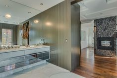 Architectural Masterpiece in Toronto. Luxury ensuite Bathroom. Omid@oedesignbuild.com
