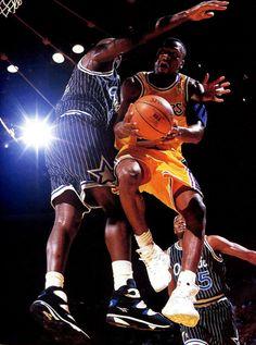 Cedric Ceballos Los Angeles Lakers Orlando Magic Shaquille O Neal Nick  Anderson cc11cb318