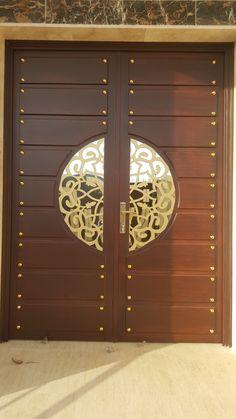 Pin By Mohd El On Doors Puertas Principales Puertas Puertas Exterior Modern Entrance Door, Main Entrance Door Design, Wooden Main Door Design, Double Door Design, Main Gate Design, Door Gate Design, Room Door Design, Door Design Interior, Entrance Doors