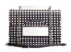 Shop this month's womenswear deliveries from MATCHESFASHION. Luxury Designer clothes, shoes, bags and accessories from designer brands including DVF, Christian Louboutin and Alexander McQueen. Checker Print, Metal Plaque, N21, Best Bags, Parisian Chic, Printed Bags, Metal Chain, Branding Design, Crossbody Bag