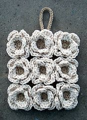 Ravelry: # 30 cushion or potholder pattern by Nihon Vogue (日本ヴォーグ社)