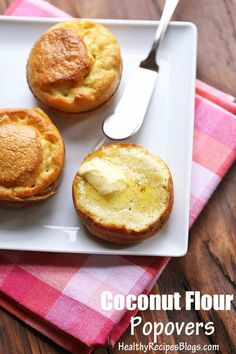 Coconut Flour Popovers Recipe