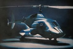 Airwolf in her lair Best Helicopter, Military Helicopter, 80s Sci Fi, Military Crafts, Concept Ships, Red Arrow, Animation Reference, Engine Types, Military Weapons