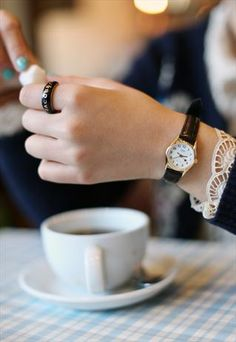 Casio Star Hand Leather Watch