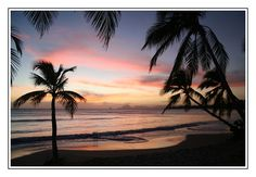 Sainte-Anne Sunset, Martinique