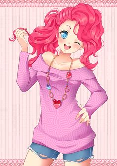 Pink Beauty: Pinkie Pie by Ross-86 on DeviantArt mlp