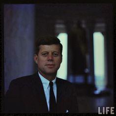 John F Kennedy the former U.S. President.