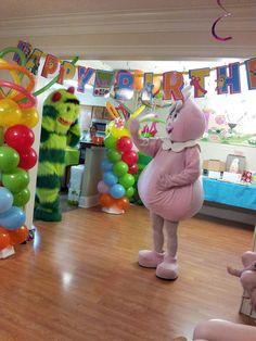 Yo Gabba Birthday Party Ideas