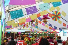 Mexican Fiesta Bridal/Wedding Shower Party Ideas | Photo 12 of 47