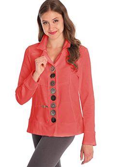 14 T Dark Navy Edwards Garment Womens Two Button Single Breasted Blazer