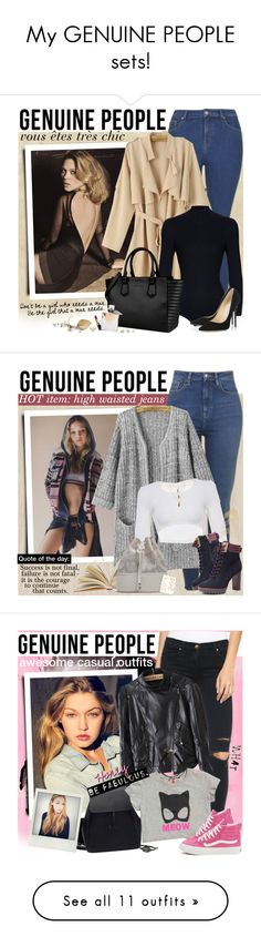 """""""My GENUINE PEOPLE sets!"""" by anita-n ❤ liked on Polyvore featuring Graham & Brown, York Wallcoverings, Jimmy Choo, BEA, Bobbi Brown Cosmetics, Lancôme, Brewster Home Fashions, Topshop, Forever 21 and modern"""