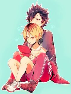 Kenma and Kuro
