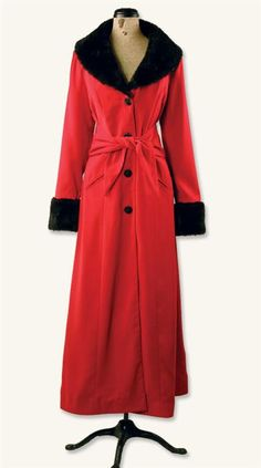 ZHIVAGO RED COAT  I would love to have a coat like this, but it isn't available in my size.
