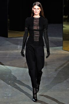 Black outfit by Alexander Wang