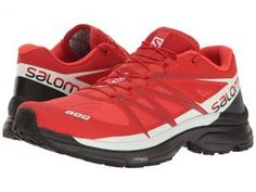 Salomon S-Lab Wings 8 (Racing Red/Black/White) Athletic Shoes