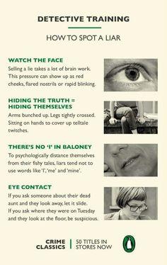 19 best body language images on pinterest body language liar liar how to spot a liar fandeluxe Images