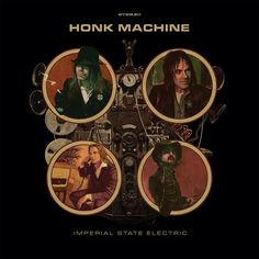 """Rock and More By Addison de Witt: Imperial State Electric - """"Honk Machine"""" Zeppelin, Rock Revolution, Otis Redding, Records For Sale, Great Albums, Thrash Metal, Death Metal, Cool Things To Buy, Stuff To Buy"""