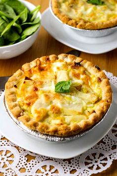 This Leek and Potato Tart is real comfort food. A vegetable tart with exceptionally great flavor.